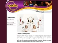 thumbnail of the Black Coffee band website