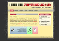 "thumbnail of the website of the ""Spielvereinigung Sued"""